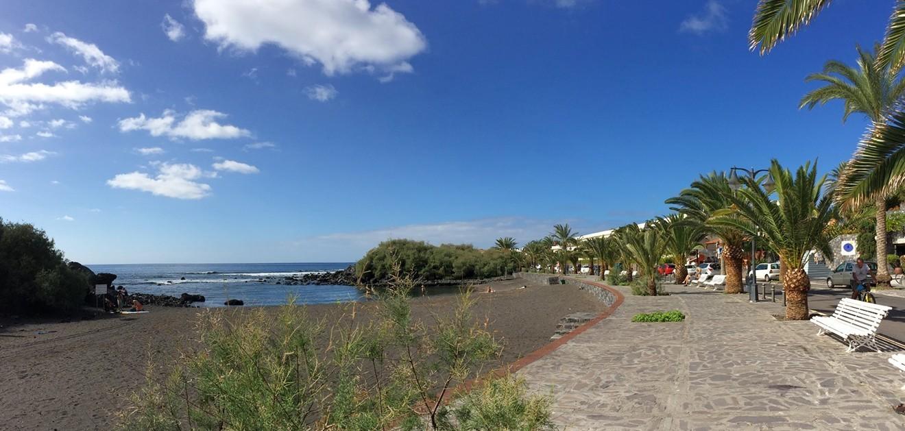 Playa, Charco del Conde, La Gomera, Valle Gran Rey, niños, familia